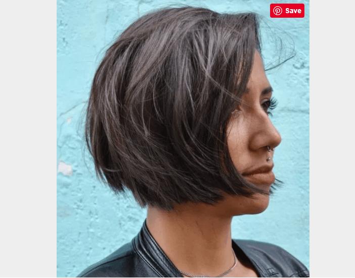 Lip-Length Choppy Bob Hairstyles