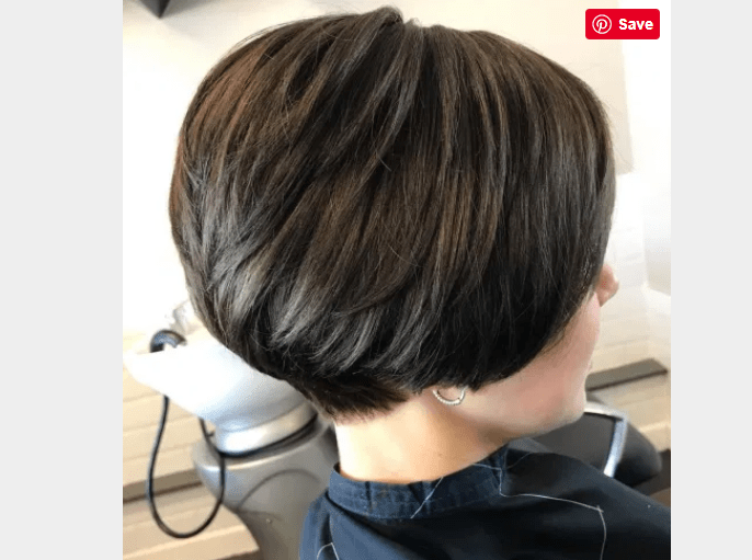 Short Bob With Tapered Back