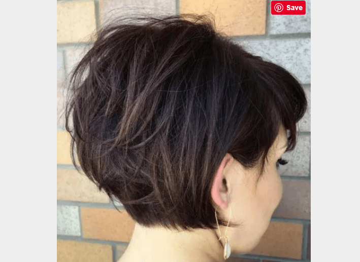 Stylish Grown Out Pixie Haircut For Women