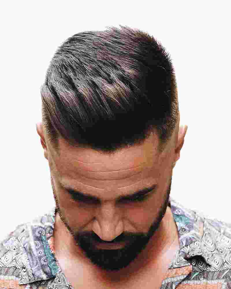 French Crop With High Fade For That Edgy Hairstyle