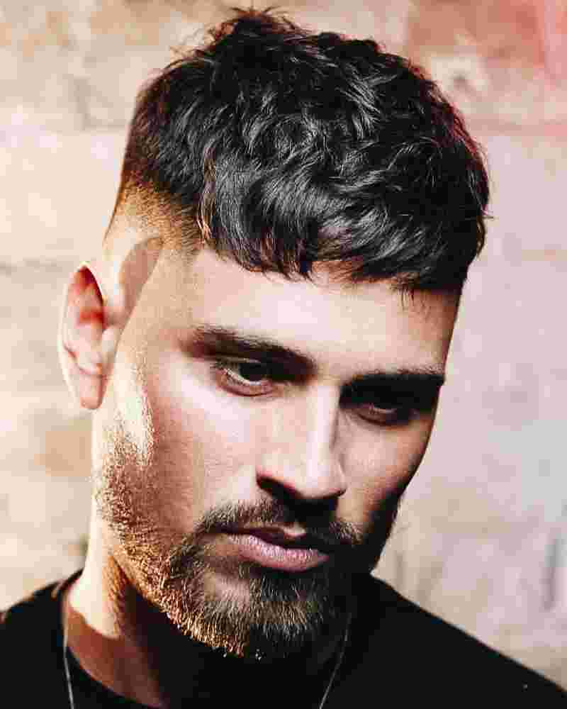 Messy French Crop Men Hairstyles
